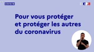 prévention Coronavirus ISF